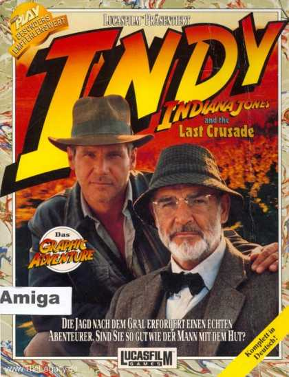 Misc. Games - Indiana Jones and the Last Crusade