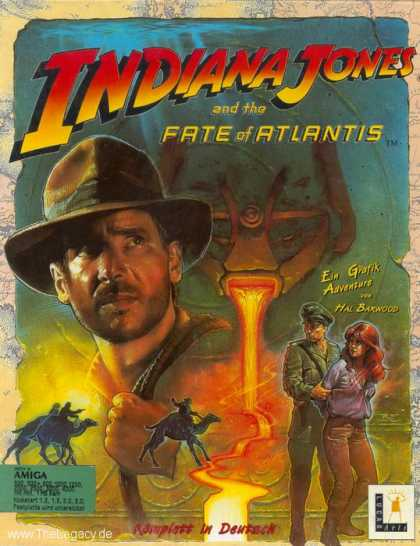 Misc. Games - Indiana Jones and the Fate of Atlantis