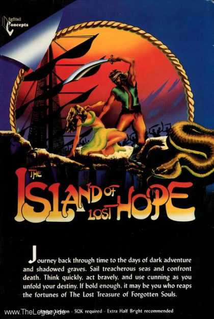 Misc. Games - Island of Lost Hope, The