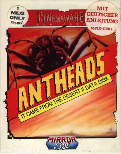 Misc. Games - Antheads: It came from the Desert II Data Disk
