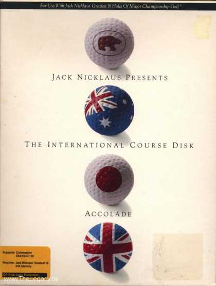 Misc. Games - Jack Nicklaus - The International Course Disk