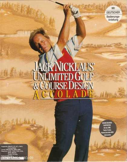 Misc. Games - Jack Nicklaus: Unlimited Golf & Course Design
