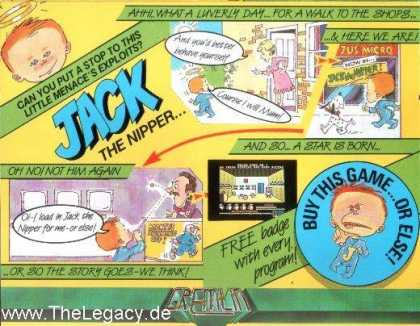 Misc. Games - Jack the Nipper