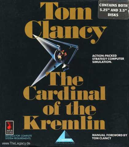 Misc. Games - Tom Clancy - The Cardinal of the Kremlin