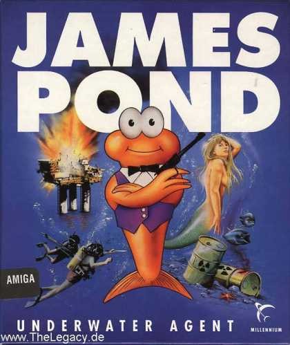 Misc. Games - James Pond: Underwater Agent