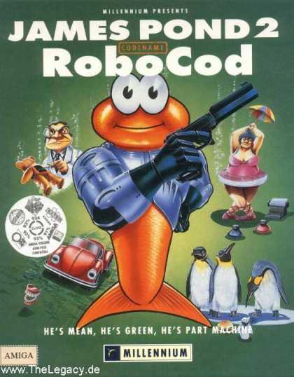 Misc. Games - James Pond 2: Codename RoboCod