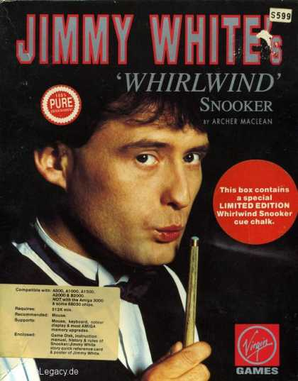 Misc. Games - Jimmy White's Whirlwind Snooker