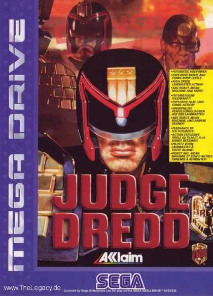 Misc. Games - Judge Dredd