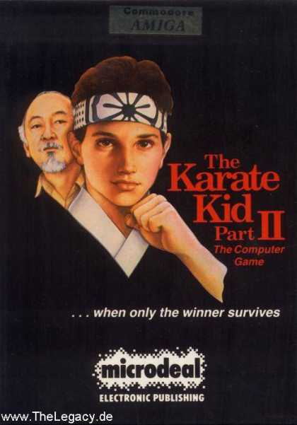 Misc. Games - Karate Kid II