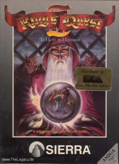 Misc. Games - King's Quest III: To Heir is Human