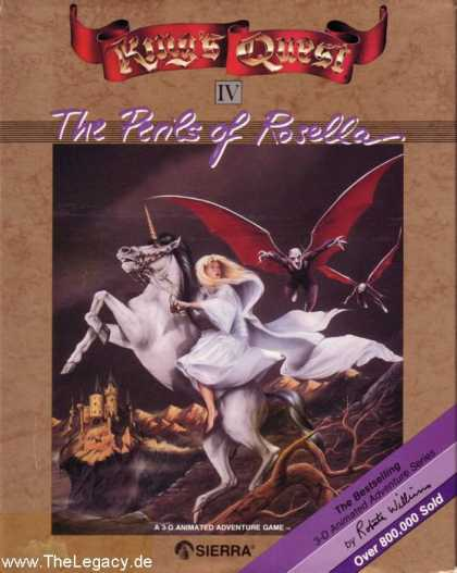 Misc. Games - King's Quest IV: The Perils of Rosella