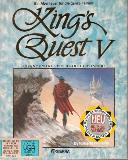 Misc. Games - King's Quest V: Absence Makes the Heart go Yonder!