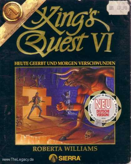Misc. Games - King's Quest VI: Heir Today, gone Tomorrow