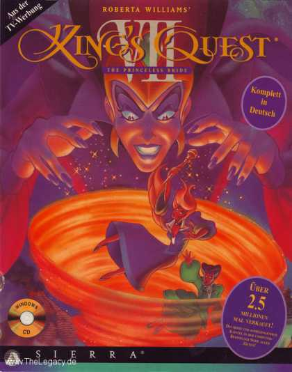 Misc. Games - King's Quest VII: The Princeless Bride