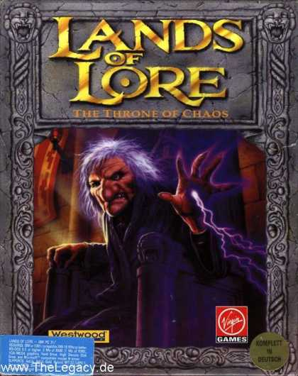Misc. Games - Lands of Lore: The Throne of Chaos