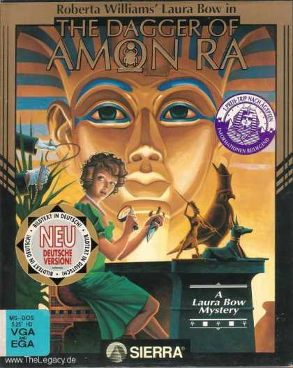 Misc. Games - The Dagger of Amon RA: A Laura Bow Mystery