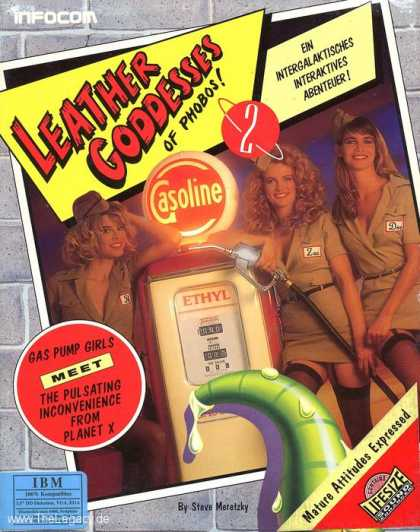 Misc. Games - Leather Goddesses of Phobos 2: Gas Pump Girls Meet the Pulsating Inconvenience f