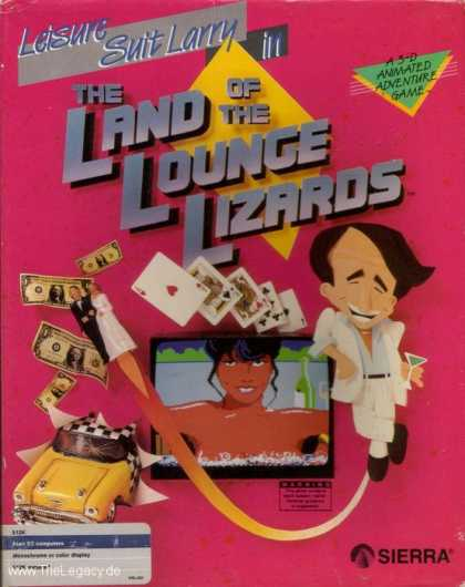 Misc. Games - Leisure Suit Larry: In the Land of the Lounge Lizards