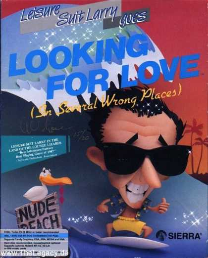Misc. Games - Leisure Suit Larry goes Looking for Love (In Several wrong Places)