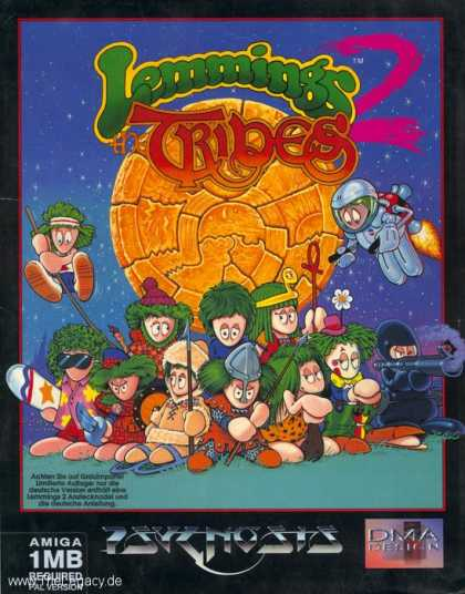 Misc. Games - Lemmings 2: The Tribes