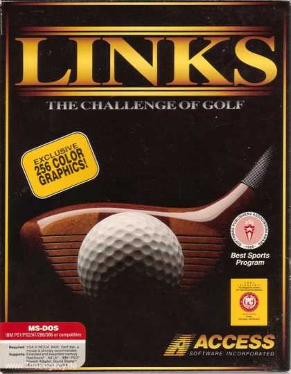 Misc. Games - Links: The Challenge of Golf