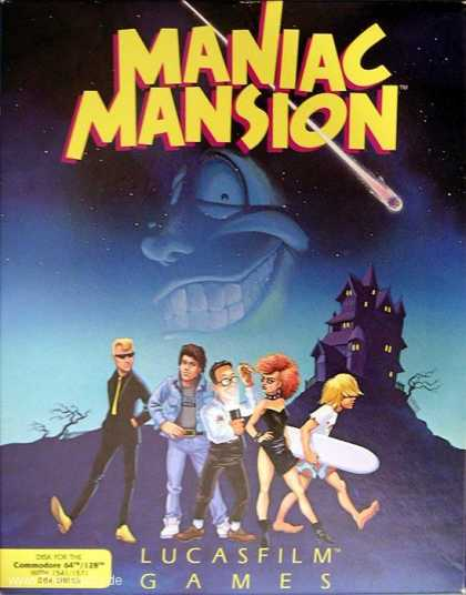Misc. Games - Maniac Mansion