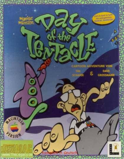 Misc. Games - Maniac Mansion: Day of the Tentacle