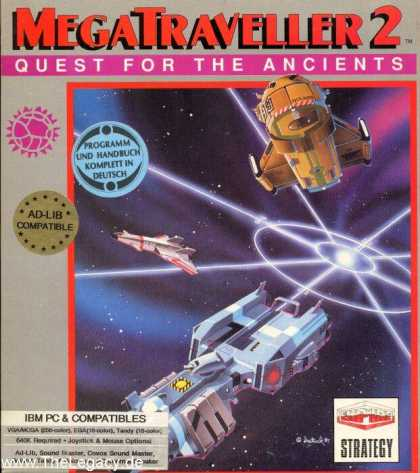 Misc. Games - MegaTraveller 2: Quest for the Ancients