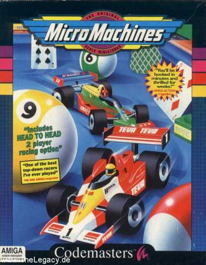 Misc. Games - Micro Machines