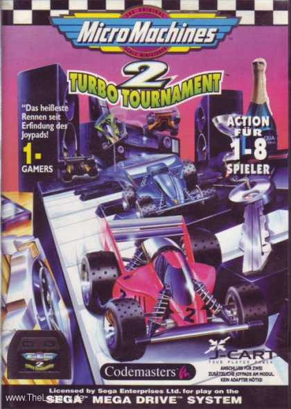 Misc. Games - Micro Machines 2: Turbo Tournament