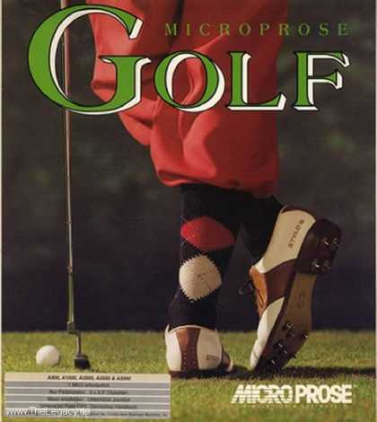 Misc. Games - Microprose Golf