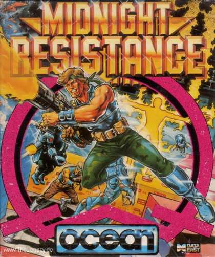Misc. Games - Midnight Resistance