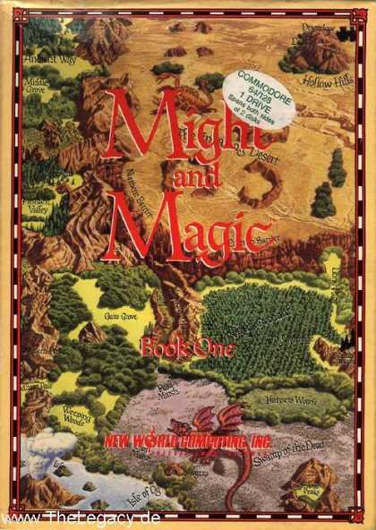 Misc. Games - Might and Magic Book One: The Secret of the Inner Sanctum