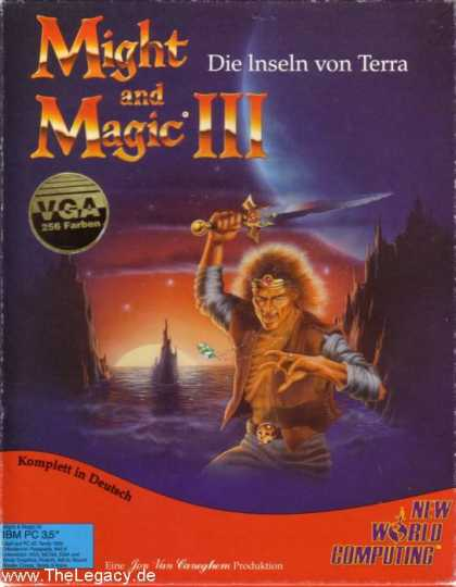 Misc. Games - Might and Magic III: Isles of Terra