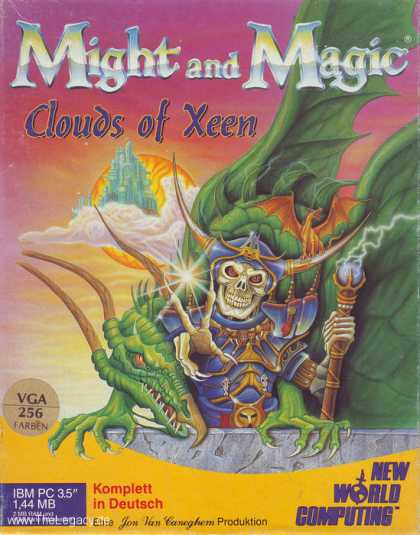 Misc. Games - Might and Magic: Clouds of Xeen