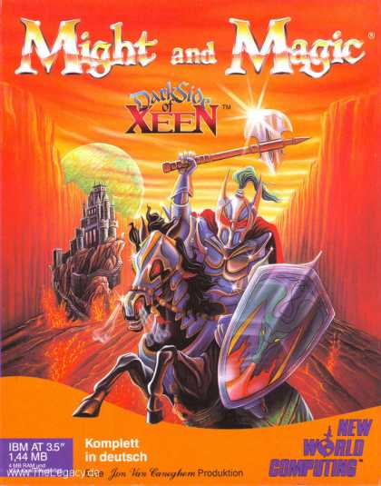 Misc. Games - Might and Magic: Dark Side of Xeen