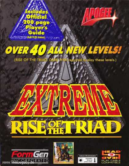 Misc. Games - Extreme Rise of the Triad
