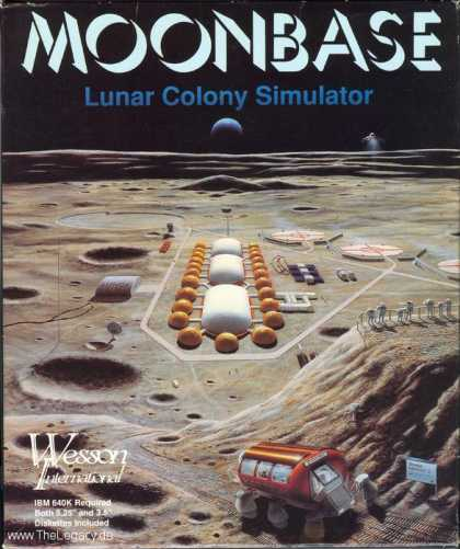 Misc. Games - Moonbase: Lunar Colony Simulator