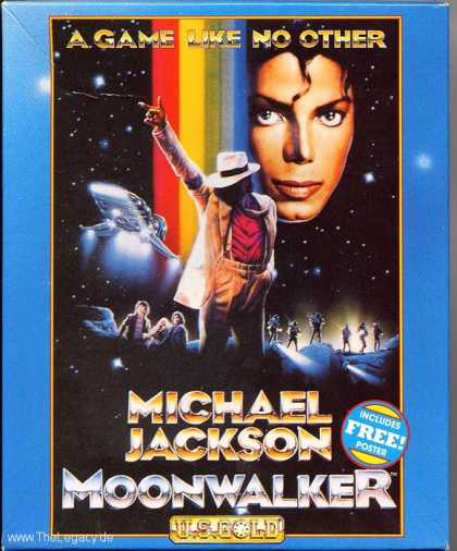 Misc. Games - Michael Jackson Moonwalker