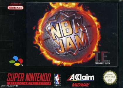 Misc. Games - NBA JAM: T.E. Tournament Edition