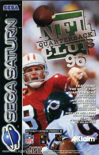 Misc. Games - NFL Quarterback Club '96