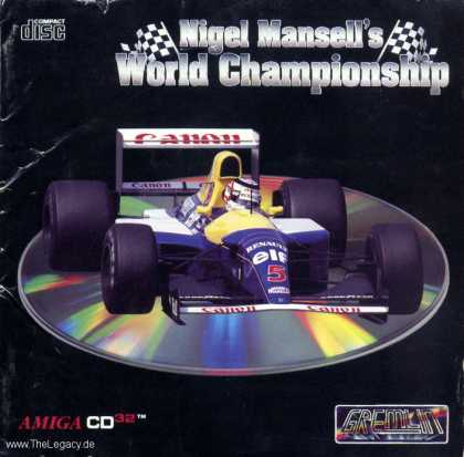 Misc. Games - Nigel Mansell's World Championship