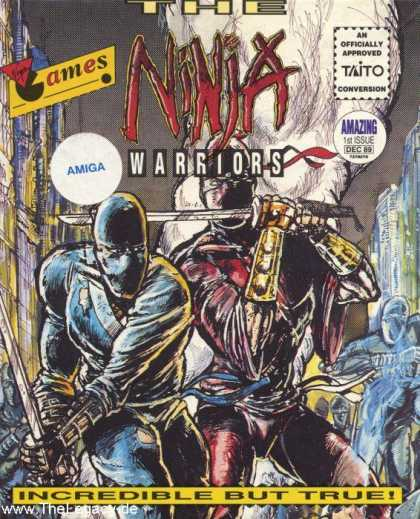 Misc. Games - Ninja Warriors, The