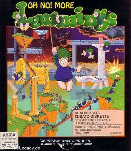 Misc. Games - Oh No! More Lemmings