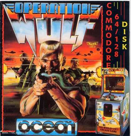 Misc. Games - Operation Wolf