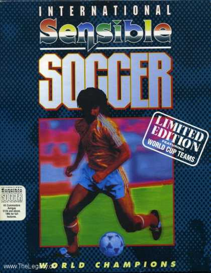 Misc. Games - International Sensible Soccer: World Champions