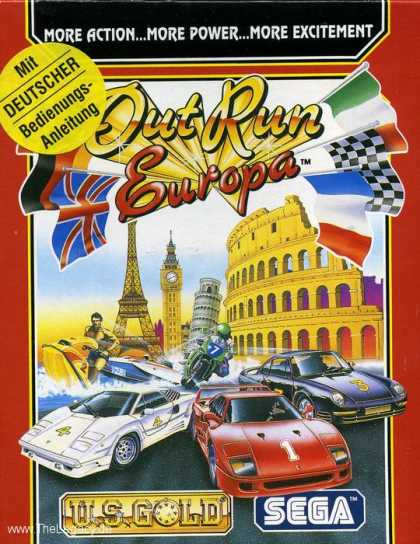 Misc. Games - Out Run Europa