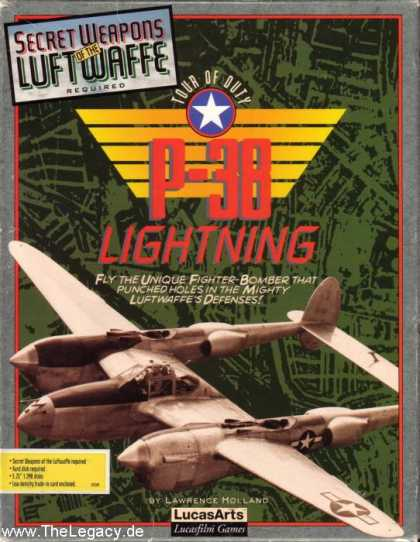Misc. Games - Secret Weapons of the Luftwaffe: P-38 Lightning