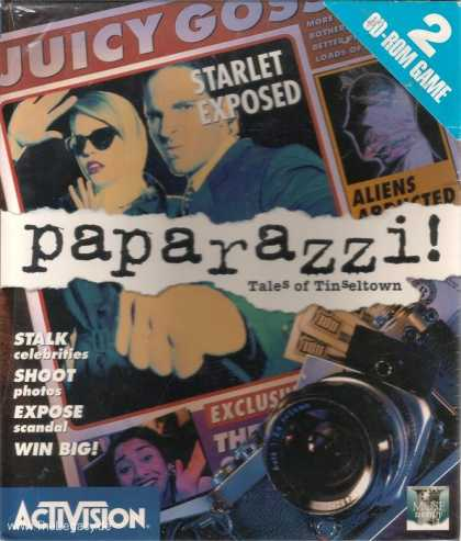 Misc. Games - Paparazzi!: Tales of Tinseltown