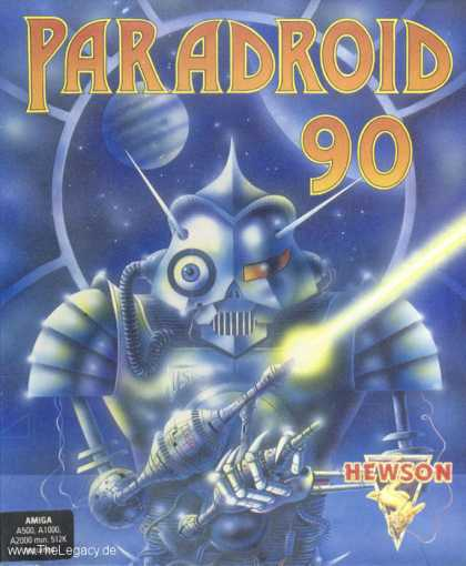 Misc. Games - Paradroid 90